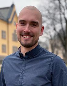 Porträttbild av Johannes Walfridsson